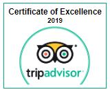 TripAdvisor excellent rating